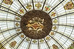 Cupola (@WineAlchemy1) Tags: cupola cúpuladepalaciocorreosytelegrafos plazadelayuntamiento valència spain navarro modernista architecture centralpostoffice
