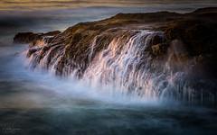 Ocean's Churn (michellelynn) Tags: ocean pacific oregon coast sunset