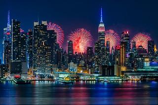 NYC Fireworks Celebration