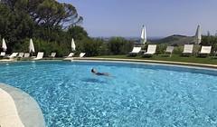 Summer vacation (giorgiorodano46) Tags: giugno2017 june 2017 giorgiorodano monterado marche italy trecastelli vacanze vacation holidays piscina summer pool piscine hotel castello iphone