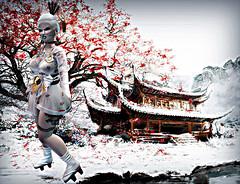 290# (xnutellax kegel (client list open)) Tags: new event gacha japan japon white geisha sl secondlife samourai samurai