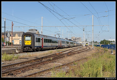 NMBS 516 + 515 + 518 + 517 - IC 2142 (Spoorpunt.nl) Tags: 18 juni 2017 nmbs treinstel ms96 516 515 518 517 ic intercity trein 2142 station gare arlon