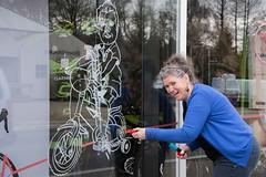 Chris_venstertekenen_DSC_0278 (Chris Perdieus) Tags: chrisper kruisstraat niels fietsenwinkel venstertekenen venstertekening