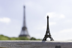 Little & Large... (Hemzah Ahmed) Tags: paris parisien parisian france travel traveller europe eiffeltower eiffel tower skyscraper skyscrapers bokeh bokehlicious depthoffield dof 2470mmf28ii canon2470mmf28iil canon5dmarkiii canon5dmark3 canon5d landmarks landmark icon iconic miniature miniatures sky skyline skylines architecture fashion engineering art artistic romance romantic creative creativity