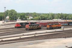 CN 2412 (CC 8039) Tags: cn eje bnsf trains c408m ac44cw c449w sd60 sd75i joliet illinois