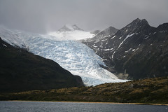 Along the Beagle Channel (Joost10000) Tags: chile patagonia glacier ice water beaglechannel southamerica outdoors scenic nationalpark wild wilderness nature natur ocean mountain rugged blue clouds albertodeagustini tierradelfuego sea