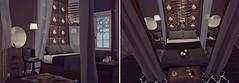 """Listen in, and imagine..."" - Client Work: Natalia & Jude - Seaside Drive - Grove -  Glam Coastal Shabby Barn (Jack Hanby - Grandeur decor) Tags: modern grotesque love passion building decor decorating interior romance vampire mirrors chairs bushes lions devon loft aria"