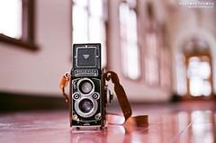 ANALOG ([M!chael]) Tags: nikon f3hp nikkor 5014 ai fujifilm superia400 taiwan taichung film manual rolleiflex tlr 台中市役所