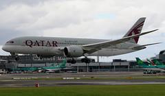 A7-BCK (Ken Meegan) Tags: a7bck boeing7878 38329 qatarairways dublin 1072017 qatar boeing787 boeingdreamliner boeing 7878 787 b787 b7878 dreamliner