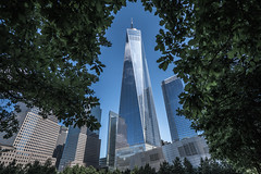 One world framed,NY (urbanexpl0rer) Tags: nyc ny newyork newyorkcity oneworldwtc framed fullframe offices buildings architecture tallhigh towardsthesky travelphotography sonya7rii