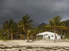 2017-04-28_08-41-32 Storm Clouds Rolling In (canavart) Tags: sxm stmartin stmaarten fwi orientbeach orientbay beach tropical caribbean island booboojam abandoned storm therebeastormabrewin