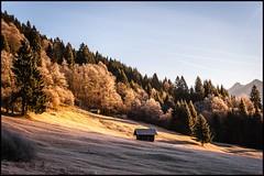 Einsame Hütte (BM-Licht) Tags: bavaria bayern d700 deutschland garmisch germany gerold geroldsee nikon see winter