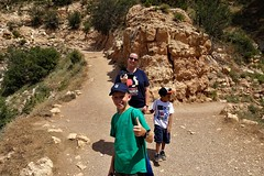 20170709 The Path More Traveled (by us) (lasertrimman) Tags: 20170709 the path more traveled by us grandcanyon grand canyon grandcanyonpath cheesil rylan quinlan quin