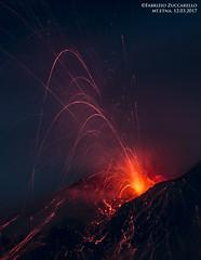 ETNA, ATTIVITA' STROMBOLIANA 12 MARZO 2017 (Fabrizio Zuccarello) Tags: etna sicily sicilia volcanoes vulcani italy italia nature natura geology geologia eruption eruzione