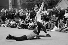 Lost (_steve h_) Tags: streetphotography london candid bw blackandwhite monochrome gdif 2017 canarywharf lost motion house sony nex6