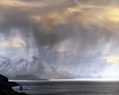 Storm (Jay Daley) Tags: norway storm clouds rain mountains lofoten sony a7r2 85mm fe