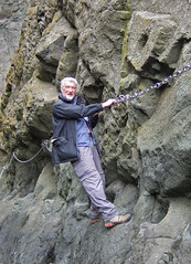Rocks, Chains and Sunshine (wheehamx) Tags: elie chain walk fife coastal path