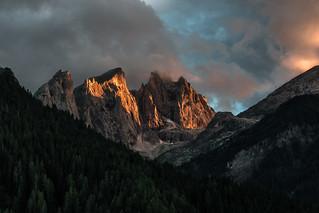 Peaks at dusk II