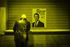 05-007-20170114_FUJ4511 (patrickbatard) Tags: politique présidentielle élection 2017 meeting peuple expression doute incrédule incrédulité ennui jaune noiretblanc