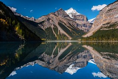Kinney Lake - Mount Robson (Explore 09-07-17) (robertopastor) Tags: américa britishcolumbia canada canadianrockiesmountain canadá fuji kinneylake montañasrocosas mountrobson robertopastor viaje xt2 xf1024mmf4