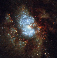 Hubble's Hidden Galaxy (NASA's Marshall Space Flight Center) Tags: nasa marshall space flight center msfc goddard gsfc hubble telescope solar system beyond esa european agency science institute stsci galaxy ic342