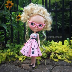 Gertie- July's calendar girl.