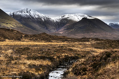 Settling in for winter (lawrencecornell25) Tags: landscape scenery scotland skye isleofskye cuillins mountains winter snow cold nature outdoors nikond5