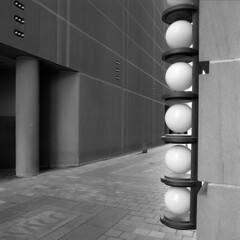 lwm (pavel photography) Tags: lamps bwfilm blackandwhitefilm 6x6film mediumformatfilm mediumformat hasselblad hasselblad500cm distagon50mm ilford columbus architecture