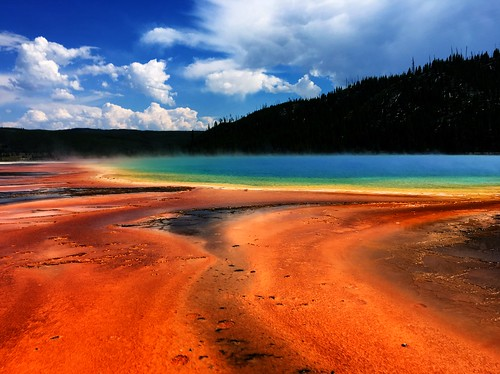 Grand Prismatic Spring in Yellowstone by Wesley Fryer, on Flickr