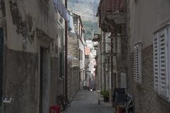 the alley (=Mirjam=) Tags: nikond750 dubrovnik croatia alley buildings windows roadtrip vacationing traveling juni 2017