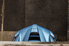 LaFerrari (Nico K. Photography) Tags: ferrari laferrari hypercar matte blue rain wet hidden nicokphotography switzerland carscoffee brissago