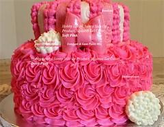 Pink Guide (TheBakeryFairy♥) Tags: guide pinks thebakeryfairy thebakeryfairycom tieredcake buttercream fondant gumpaste pinkcake