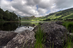 Focusing (See-Through-My-Lens) Tags: blea tarn landscapes lake district mountains hills canon manfrotto leefilters dof shallow ngc