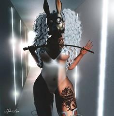 "Domina (Mistic Aura ""Nevrose"") Tags: avatar sl second life mesh creation bdsm girl sexy mistress tattoo"