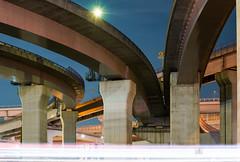 A part of north side, Nagoya Minami Junction (名古屋南ジャンクション) (christinayan01) Tags: elevated expressways highway junctio jct junction road bridge japan nagoya