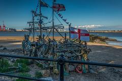 Fence Fridays - Pirate Ship (Chris Scopes) Tags: fence fridays newbrighton liverpool pirateship wirrel