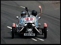 Morgan 3 Wheeler - Wave (zweiblumen) Tags: morgan3wheeler car coventrymotofest coventry westmidlands england uk canoneos50d canon70300mm zweiblumen