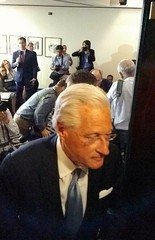 Donald Trump's lawyer Marc Kasowitz leaves a press conference in DC (Dan_DC) Tags: tv television notoriety