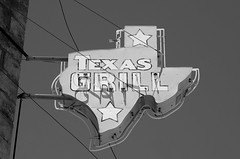 Texas Grill (dangr.dave) Tags: architecture ballinger downtown historic runnelscounty texas tx texasgrill neon neonsign