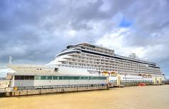 Seven Seas Explorer in Liverpool (Jeffpmcdonald) Tags: regent sevenseasexplorer cruiselinerterminal 2017 rivermersey liverpool cruiseship nikond7000 jeffpmcdonald june2017