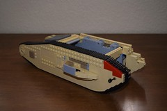 New WIP (EliteTC) Tags: lego wip tank vehicle moc indianajones lastcrusade
