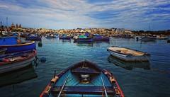 Ma belle Malta (Imane La Terrienne) Tags: europe travel voyage malte bateaux nuages pêcheurs couleurs canon photos pictures love