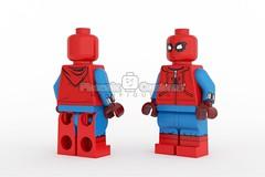 Homemade Arachnid Hero - Coming Soon (Phoenix Custom Bricks) Tags: lego superhero custom arachnid spider hero brick minifigure minifig phoenix customs