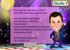930007 (Osoq.com) Tags: wwwosoqcom invitation card caricature