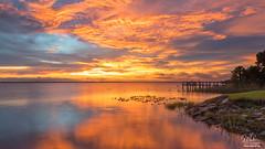 After the storm (Michael Seeley) Tags: canon fl florida lake lakewashington landscape melbourne michaelseeley mikeseeley shoreline spacecoast sunset