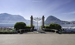 #037 Vecchio pontile di Villa Ciani 2017 (Enrico Boggia | Photography) Tags: parcociani maggio 2017 enricoboggia ceresio lagodilugano lugano sansalvatore montesansalvatore cancello ciani parco primavera pontile