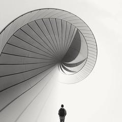 Swirl... (jasminkämmerer) Tags: monochromatic monochrome fantasy blackandwhite blackwhite schwarzweis arty graphicdesign edit