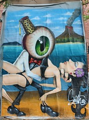 . (SA_Steve) Tags: mural trenton trentonnj art creative smith agenteye13
