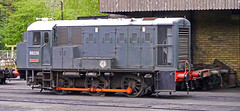 "D0226 - English Electric Diesel Loco ""Vulcan"" (wontolla1 (Septuagenarian)) Tags: kwvr oxenhope keithley howarth railway rail steam station loco locomotive yorkshire walking walk hiking hike prototype shunter last one vulcan"