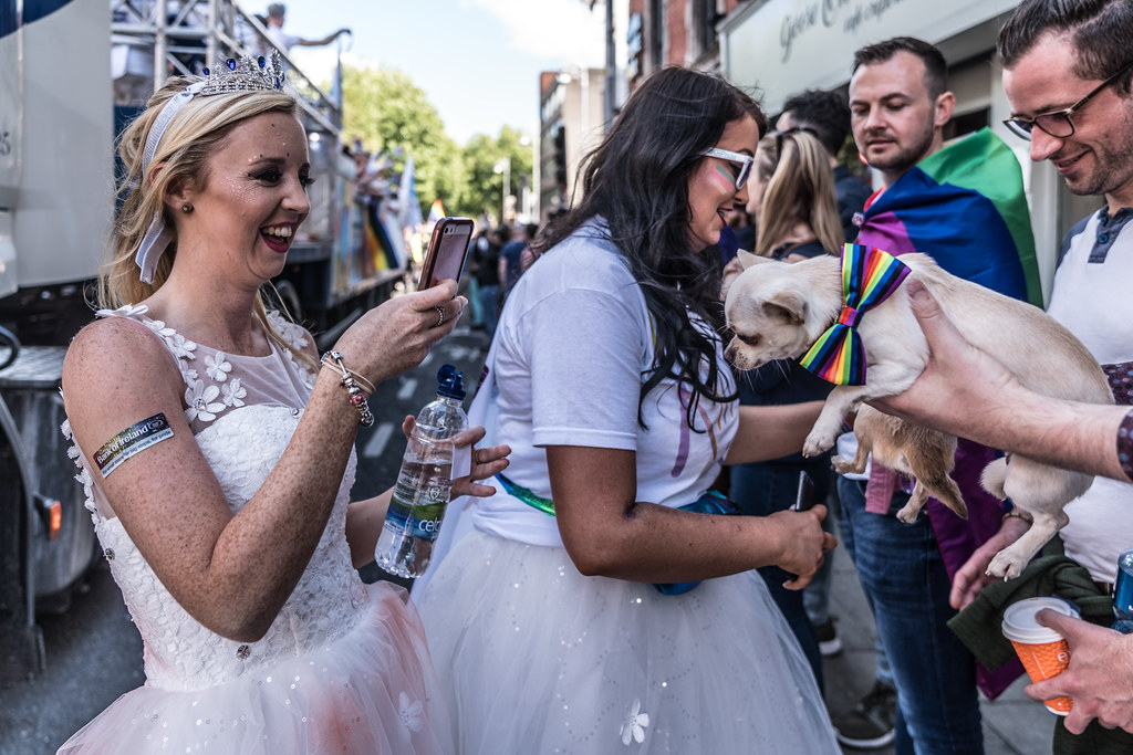 LGBTQ+ PRIDE PARADE 2017 [ON THE WAY FROM STEPHENS GREEN TO SMITHFIELD]-130028